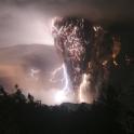 chaiten volcano lightning
