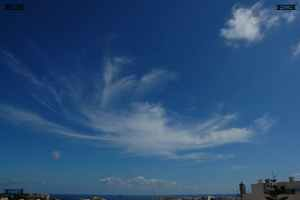 crab clouds like the early drawings of the Crab Nebula - photos of these sort of cloud circles or circular shapes in malta