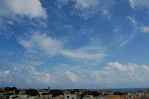 the creation or formation of cloud streets lines weather explained