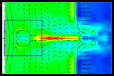 earths magnetosphere aurora computer simulation spacequakes plasma jet 1