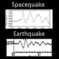 how does the electric universe theory work on earth eu spacequakes similar to earthquakes