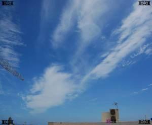 malta cirrus spissatus clouds Altocumulus perlucidus clouds undulatus Cirrus fibratus clouds