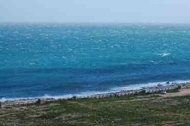white horses white caps on sea waves (ocean waves) breaking white foam whitehorses
