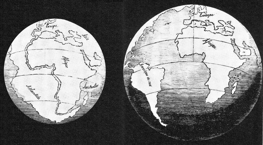 growing earth theory evidence pangea break up