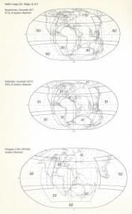 pangaea pangea supercontinent smaller planet globe size diameter expanding growing Earth