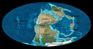 pangea growing earth theory owen Atlas of Continental Displacement