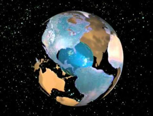 pangea expanding earth theory owen Atlas of Continental Displacement