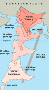plate tectonics indian india theory