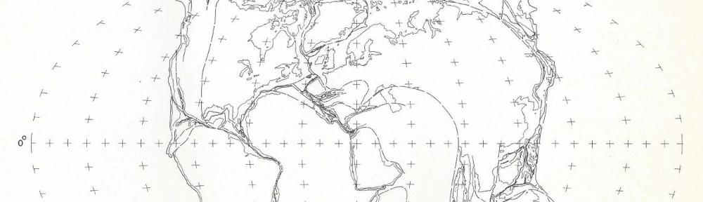 H G owen Atlas of Continental Displacement book