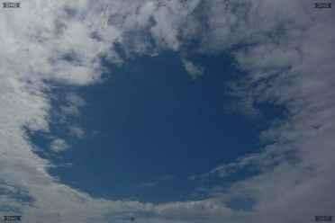 Fallstreak Holes or Hole Punch Cloud are amazing weather cloud phenomenon - this Punch Hole Cloud was photographed in Malta September 2009