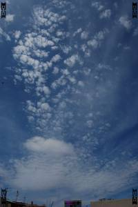 Altocumulus clouds Cumulus fractus photographs images