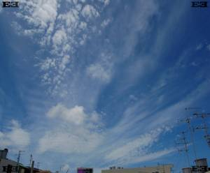 cloud layers Altocumulus Cirrus photographs images atmosphere