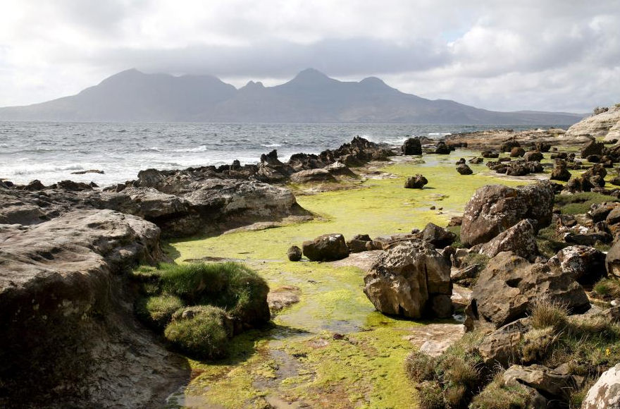 eigg raised beaches growing earth evidence