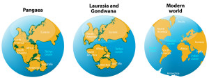 expanding earth evidence proof supercontinents growing globe