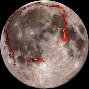 expanding earth evidence other moon