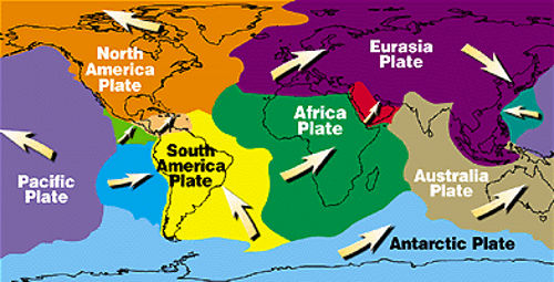 expanding earth evidence tectonic plates shrink