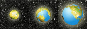 expanding earth theory and mass accretion
