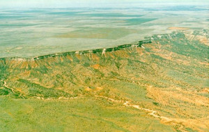 high plains mesa expanding earth evidence theory growing continental crust