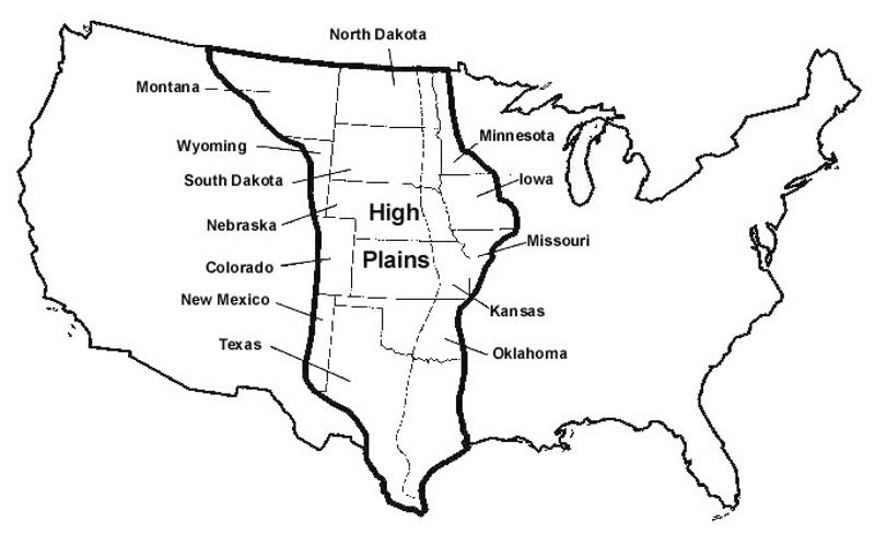 high plains usa growing earth land theory theories expanding
