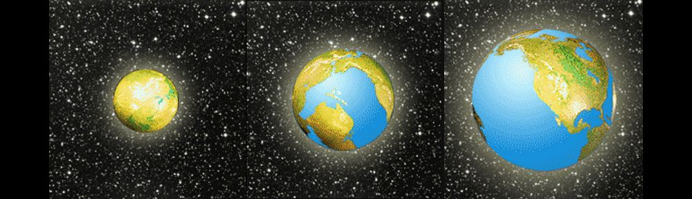 Exchanging and Expanding Earth theory